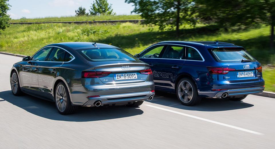 Novos Audi A4 Avant E A5 Sportback G Tron A Caminho Da