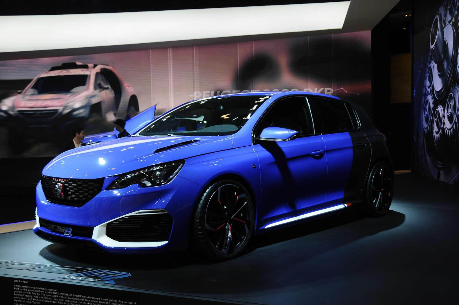 peugeot 308 r hybrid aparece em shanghai carzoom. Black Bedroom Furniture Sets. Home Design Ideas