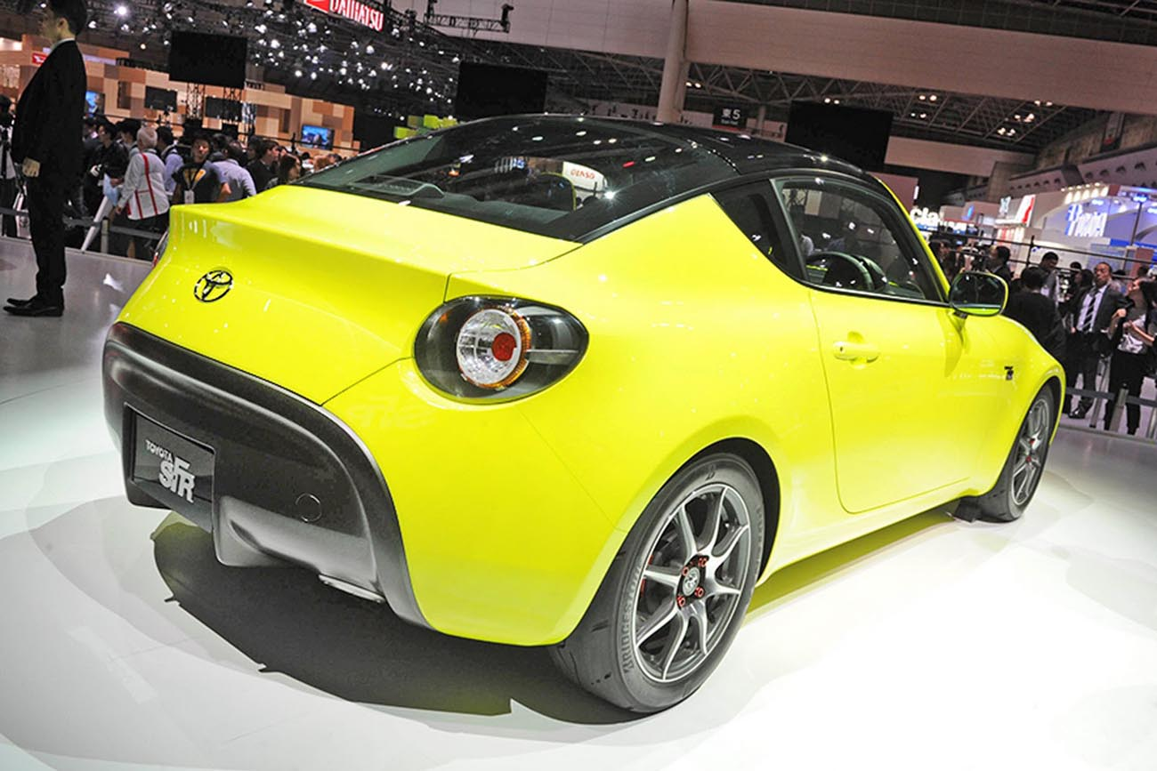 O Toyota S-FR Coupé chegou a Tokyo! | Carzoom