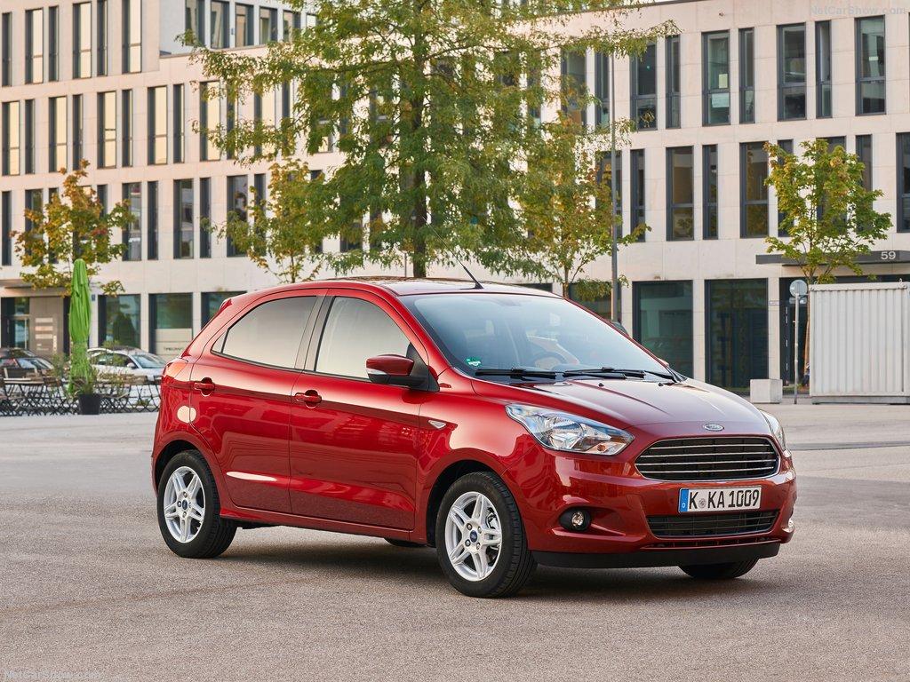 """White Kia Optima >> """"Passeamos"""" por Madrid ao volante do Ford KA Plus! - Carzoom"""
