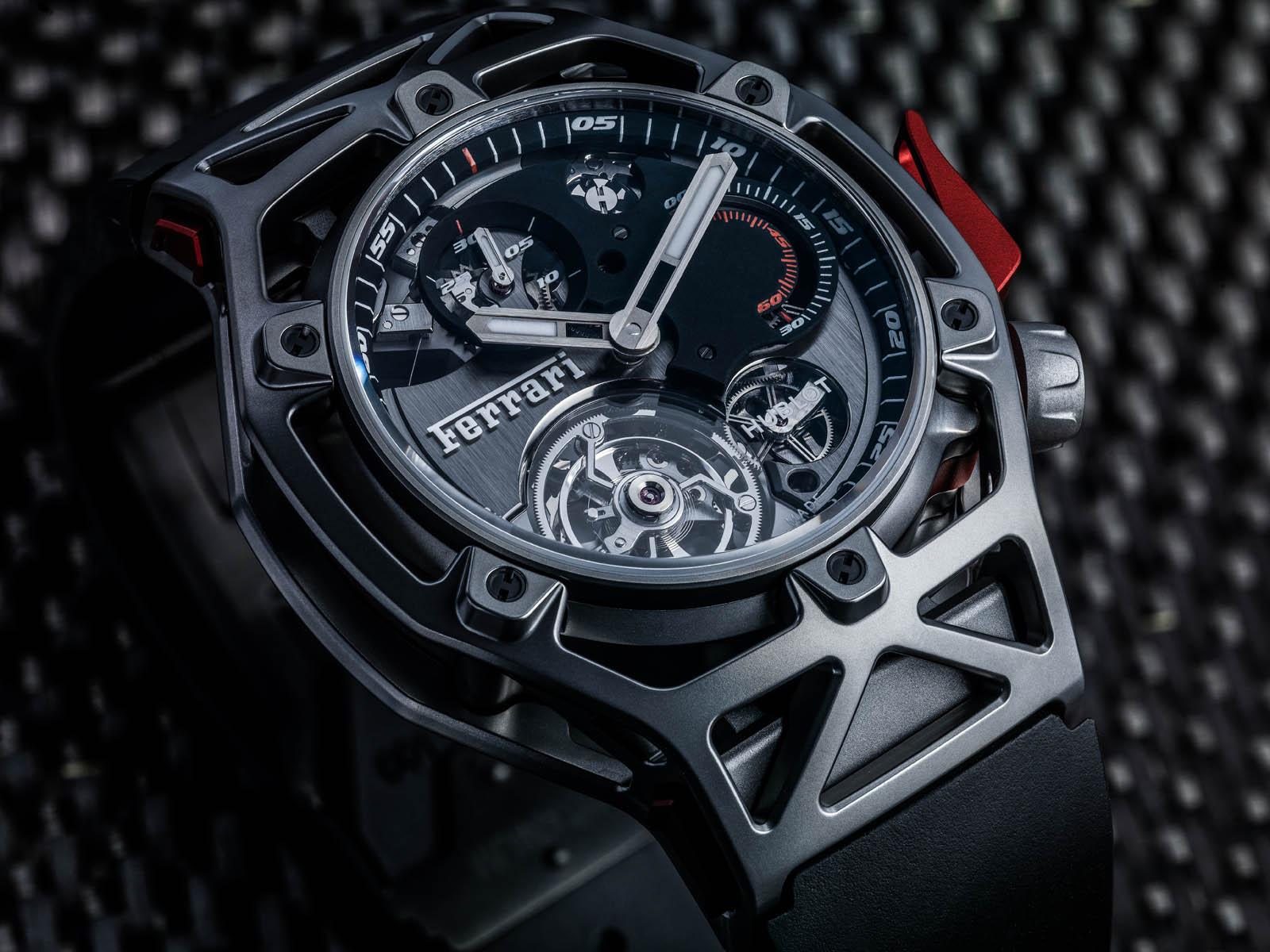 b625dbbab19 Este é o novo relógio da Ferrari feito pela Hublot! - Carzoom