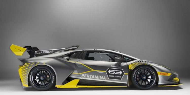 lamborghini huracan super trofeo revelado carzoom. Black Bedroom Furniture Sets. Home Design Ideas