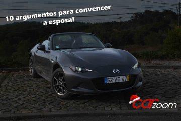 Sabemos que quer comprar um Mazda MX-5 e que a sua esposa não deixa! 78