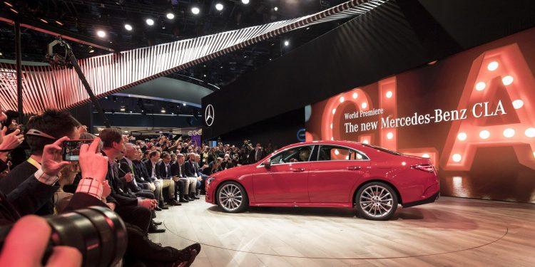 10e91f5a0 As vendas do novo Mercedes CLA começam já em Maio deste ano na Europa!