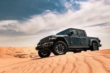 Nova Jeep® Gladiator, a inovadora pick-up entre tradição e futuro 32