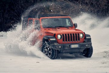 Destreza em todo o terreno do Jeep® Wrangler homenageada nos prémios '4x4 Of The Year' 30