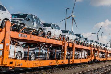Volvo Cars aumenta transporte ferroviário para reduzir emissões 74