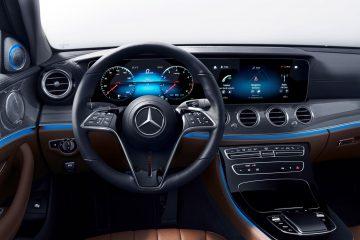 A Mercedes-Benz irá apresentar uma geração totalmente nova de volantes digitais 20