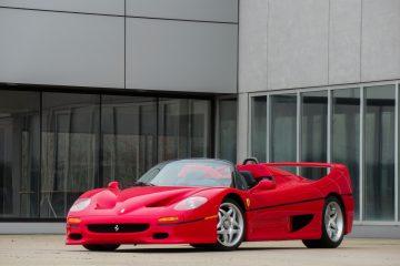 Ferrari F50 apresentado no salão de Frankfurt em 1995 vai a leilão! 19