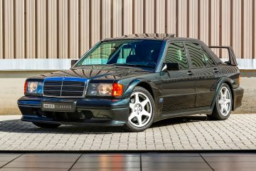 Um raro Mercedes 190E 2.5-16 Evolution II vai a leilão! 18