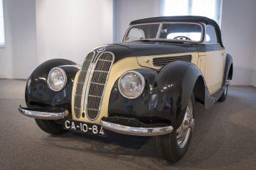 BMW 327 Cabriolet de 1938 reforça colecção do Museu do Caramulo 14
