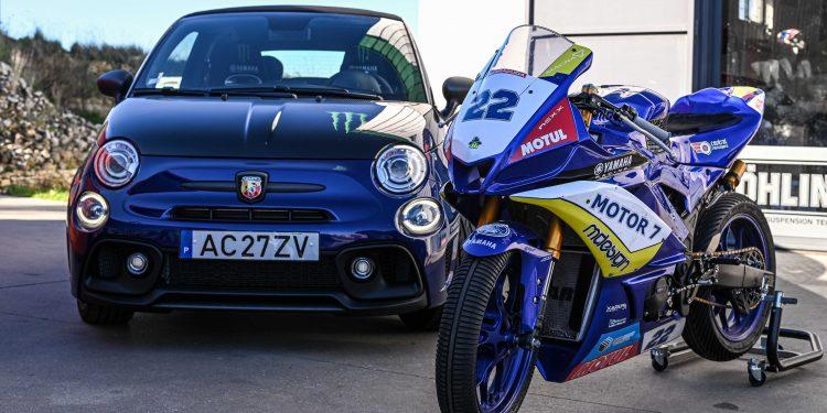 Ensaiámos o Abarth 595 Yamaha com a ajuda da Madalena Simões piloto da Yamaha Motor 7! 56