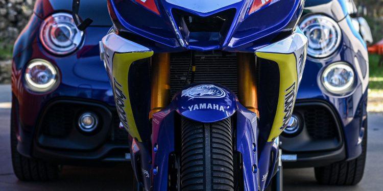 Ensaiámos o Abarth 595 Yamaha com a ajuda da Madalena Simões piloto da Yamaha Motor 7! 57