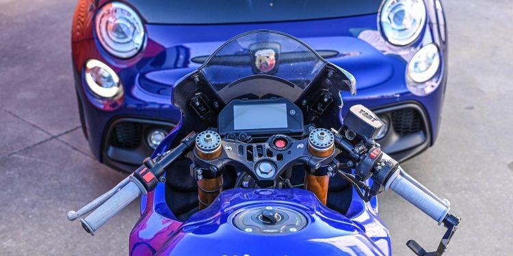 Ensaiámos o Abarth 595 Yamaha com a ajuda da Madalena Simões piloto da Yamaha Motor 7! 55