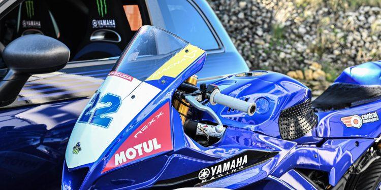 Ensaiámos o Abarth 595 Yamaha com a ajuda da Madalena Simões piloto da Yamaha Motor 7! 53