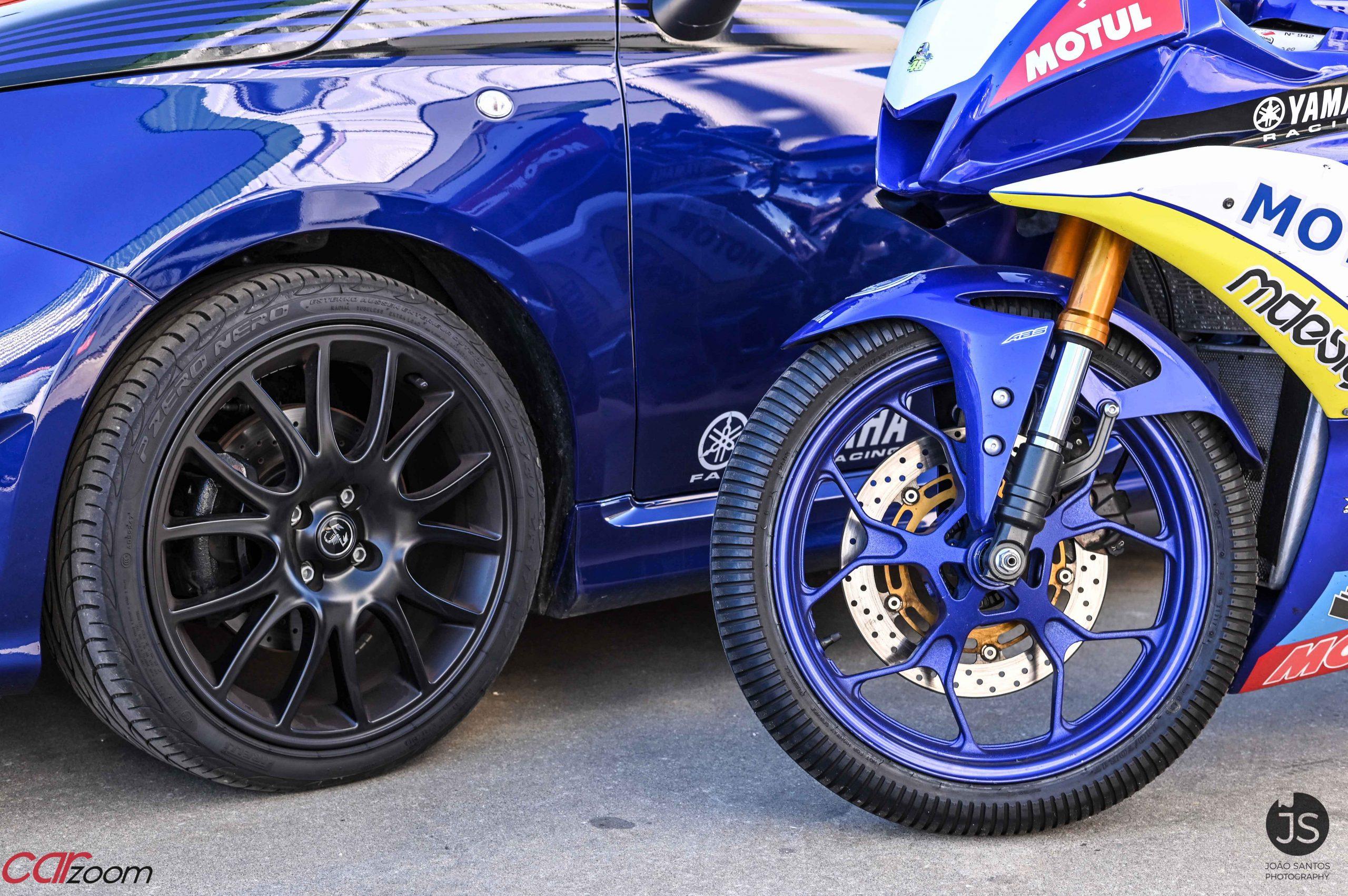 Ensaiámos o Abarth 595 Yamaha com a ajuda da Madalena Simões piloto da Yamaha Motor 7! 26