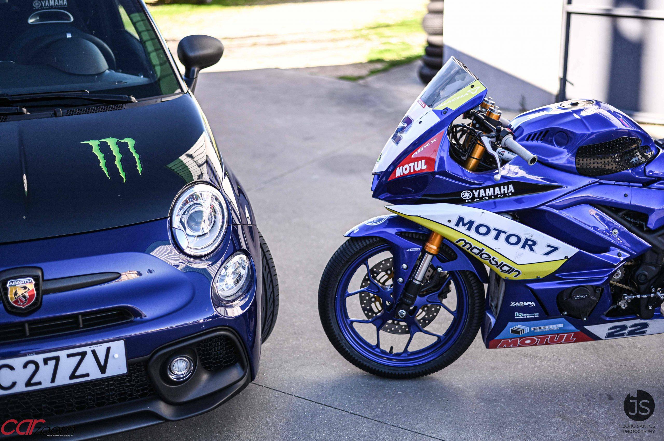 Ensaiámos o Abarth 595 Yamaha com a ajuda da Madalena Simões piloto da Yamaha Motor 7! 31