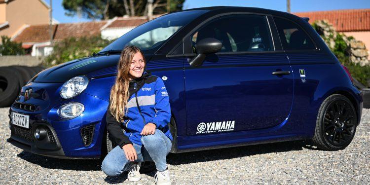 Ensaiámos o Abarth 595 Yamaha com a ajuda da Madalena Simões piloto da Yamaha Motor 7! 65