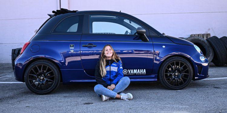 Ensaiámos o Abarth 595 Yamaha com a ajuda da Madalena Simões piloto da Yamaha Motor 7! 63