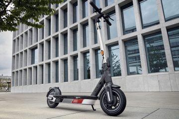 A nova Audi electric kick scooter powered by Segway 35