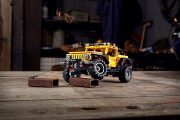 Faça do Mundo o seu Parque de Jogos com o Novo LEGO® Technic™ Jeep® Wrangler 35