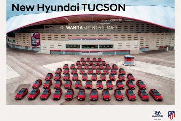 Novo Hyundai Tucson chegou ao estádio do Atlético de Madrid 18