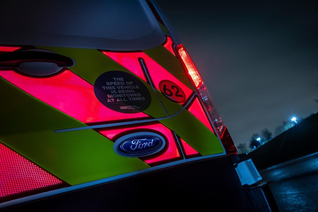A Ford Ajuda Os Operadores A Manterem-Se Seguros Com Os Pioneiros Painéis Eletrónicos Para Furgões Comerciais 15