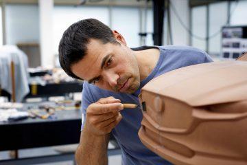 Os artesãos modeladores de argila da Mazda(video) 16