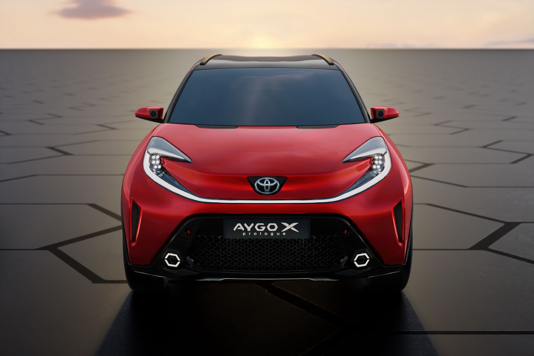 Toyota confirma Aygo X para o segmento A 13