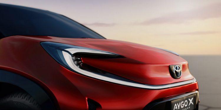 Toyota confirma Aygo X para o segmento A 14