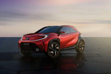 Toyota confirma Aygo X para o segmento A 52