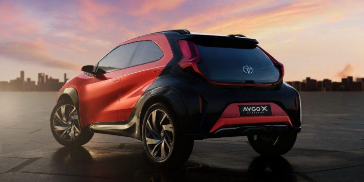 Toyota confirma Aygo X para o segmento A 20