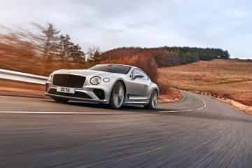 O Bentley mais dinâmico da história: novo Continental GT Speed 34