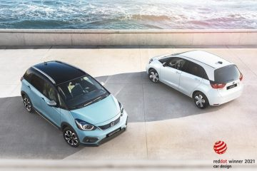 Honda Jazz e Honda Jazz Crosstar conquistam prémios no Red Dot Awards 2021 19