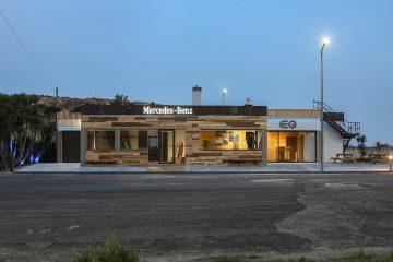 Novo Mercedes-EQ Lounge o edificio com forte ligação ao Oceano 26