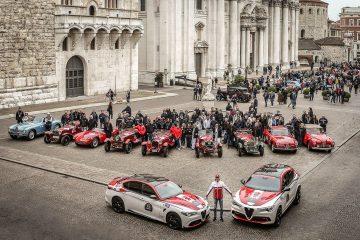 """Alfa Romeo protagonista da 39.ª edição das """"1000 Miglia"""" 25"""