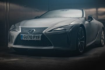 Lexus LC cabrio enfrenta teste gelado 23