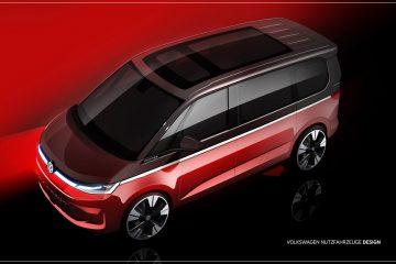 Volkswagen divulga os primeiros esboços do novo Multivan 34