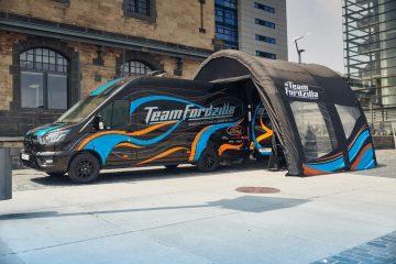 """Digressão Europeia Da """"Gaming Transit"""" Do Team Fordzilla Apoia Instituições De Caridade 20"""
