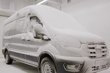 Testes ao 100 por cento elétrico Ford E-Transit simulam uma vida de trabalho intenso (vídeo) 19