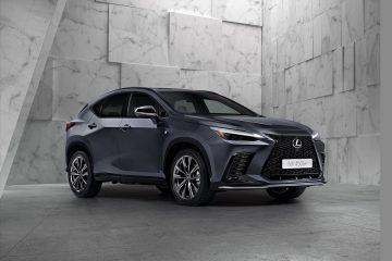 A nova Geração NX abre um novo capítulo para a Lexus 22