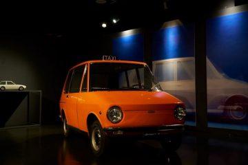 """Protótipo de Manzù para o Fiat City Taxi em destaque na exposição """"Che macchina!"""" (""""Que carro!"""") 16"""