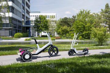 BMW apresenta triciclo e trotinete elétricos para mobilidade urbana. 13