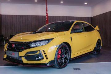 Honda Civic Type R Limited Edition já circula nas estradas portuguesas 17