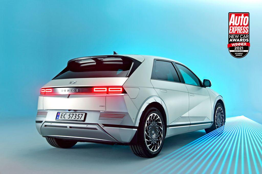 """Hyundai distinguida com seis prémios e IONIQ 5 eleito """"Car of the Year 2021"""" 16"""