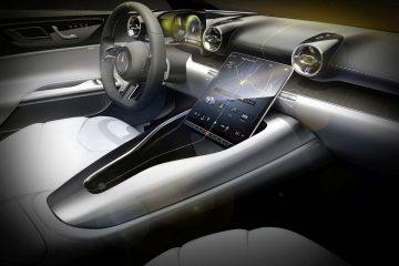 Design interior exclusivo do novo Mercedes-AMG SL 23