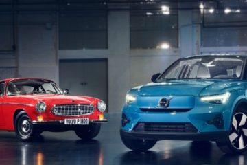 Volvo C40 Recharge e Volvo P1800 um design extraordinário que os une 24