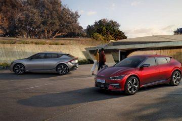 Kia EV6 com pegada de carbono certificada pela Carbon Trust 26