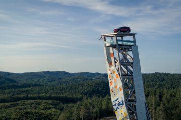 Ford Explorer Mostra O Seu Espírito Aventureiro No Topo Da Torre De Escalada Mais Alta Do Mundo (video) 82