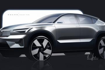 A história do design do Volvo C40 Recharge 21